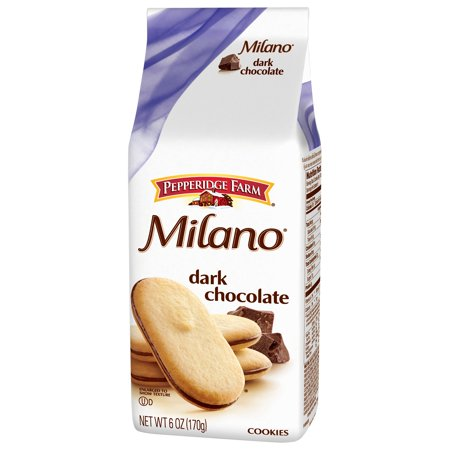 Pepperidge Farm  Milano  Dark Chocolate Cookies 6 Oz  Bag