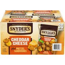 Pretzels: Snyder's Pretzel Sandwiches Snack Packs