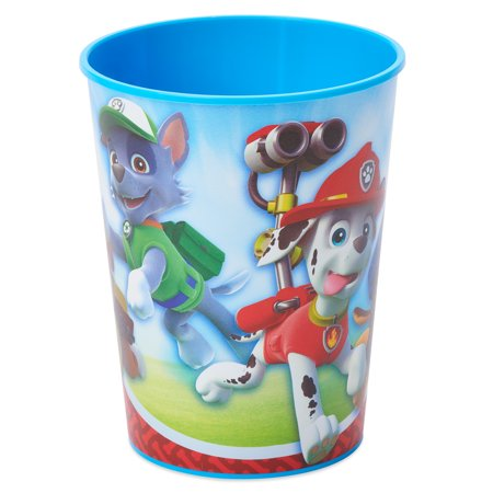 American Greetings PAW Patrol 16oz Plastic Party Cups, - Paw Patrol Party