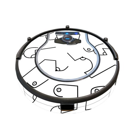 MightySkins Skin for Shark Ion Robot 750 Vacuum Minimal Coverage - Fruit Water   Protective, Durable, and Unique Vinyl Decal wrap cover   Easy To Apply, Remove, and Change Styles   Made in the USA