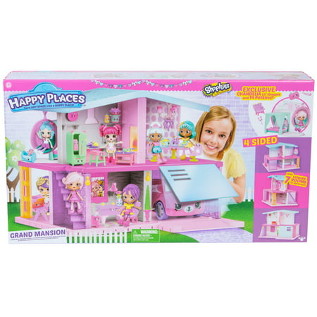 Happy Places Shopkins Mansion Playset