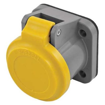 Single Pole Connector Non Met Cover Yllw HUBBELL