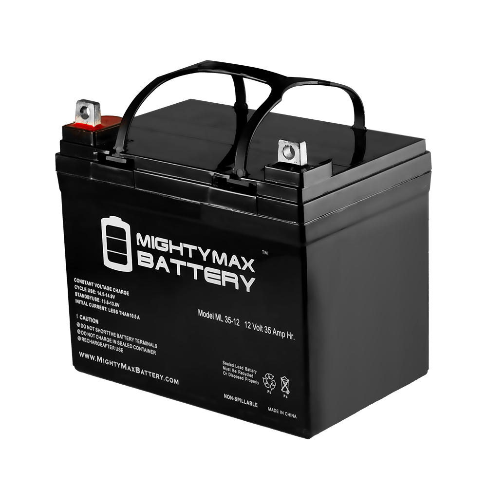 ML35-12 - 12V 35AH U1 Deep Cycle AGM Solar Battery Replaces 33Ah, 34Ah, 36Ah