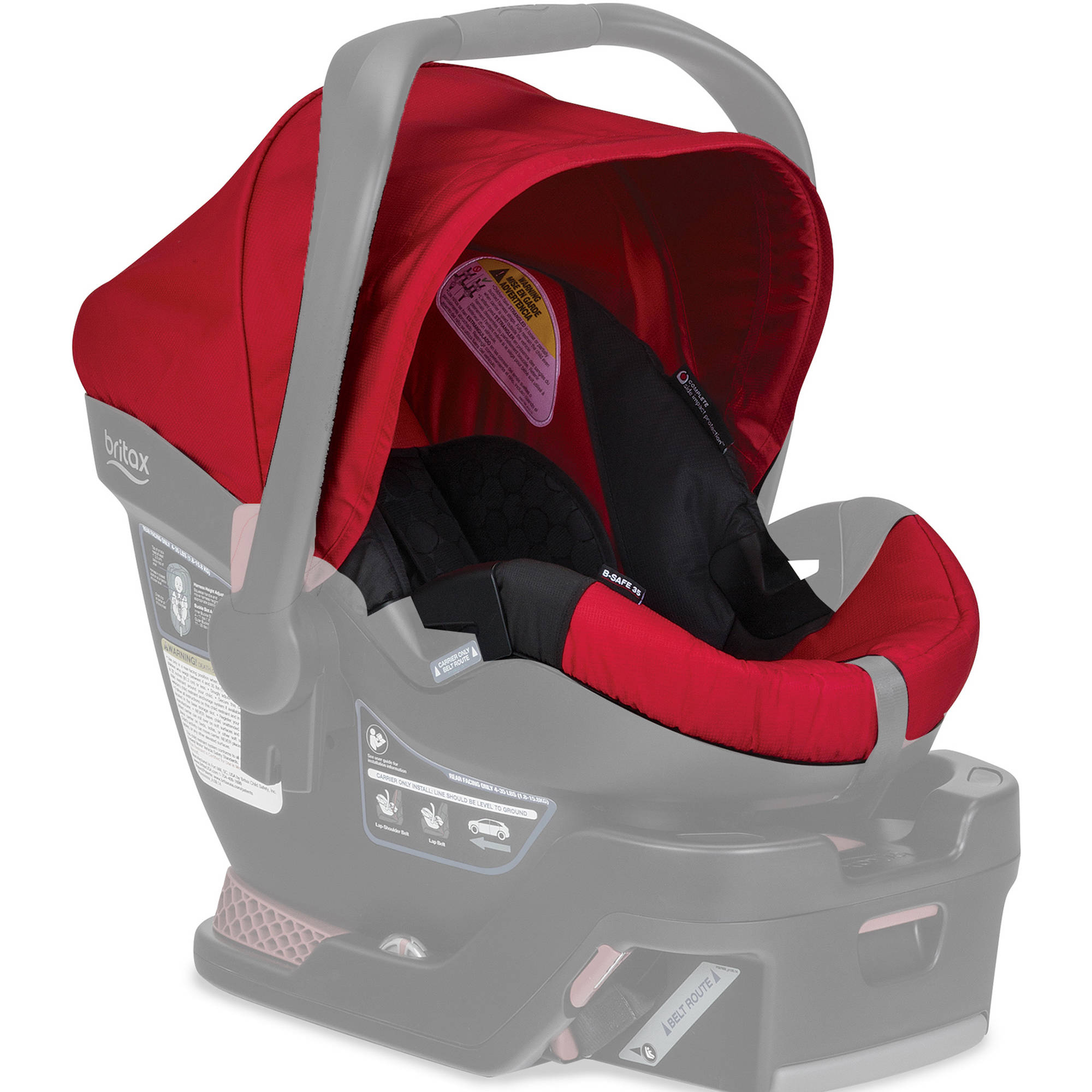 Britax Car Seat Cover Set, B-Safe 35 Infant Car Seat, Red