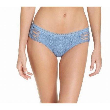 Becca Womens Swimsuit - Becca Womens Small Bikini Bottom Crochet Lace Swimwear