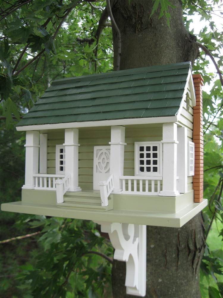 Home Bazaar Classic Series Arts and Crafts Birdhouse by Home Bazaar