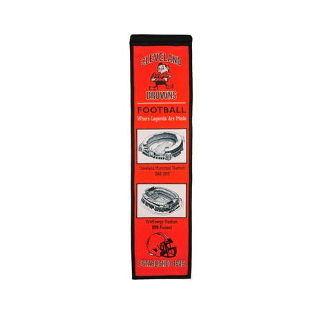 Winning Streak - NFL Evolution Banner, Cleveland Browns Cleveland Browns Wall Banner