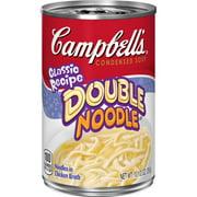 Campbell'sCondensedDouble NoodleSoup, 11 oz.