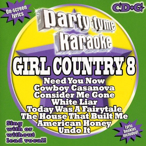 Party Tyme Karaoke: Girl Country 8