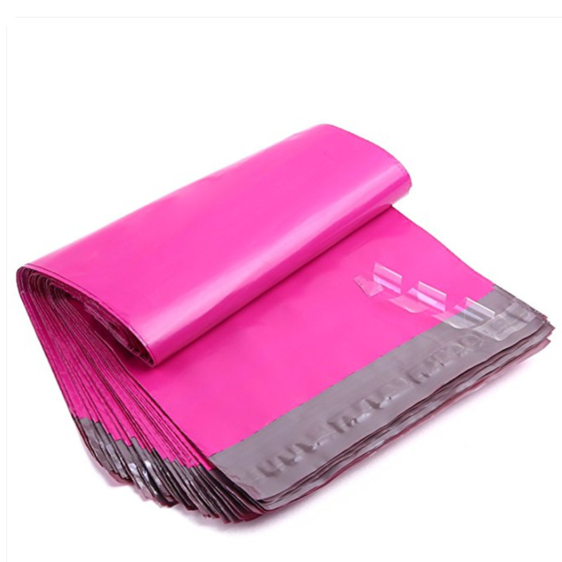 ProLine 7.5x10.5 Pink Poly Mailer Envelopes Shipping Bags with Self Adhesive 500 Waterproof and Tear-Proof Postal Bags