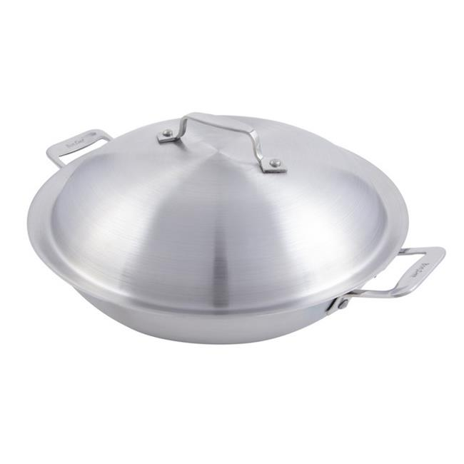Bon Chef 60011 10.37 in. dia. Cucina Braiser Pan with Lid & Induction Bottom, 2 quart by Bon Chef