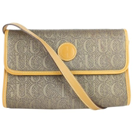 Gucci Monogram Logo Cross Body Flap Bag 6gz0130