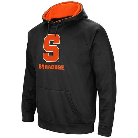 Mens Ncaa Syracuse Orange Black Pull Over Hoodie