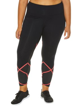 8d4ffcbfba3801 Womens Plus Activewear Leggings, Pants & Capris - Walmart.com