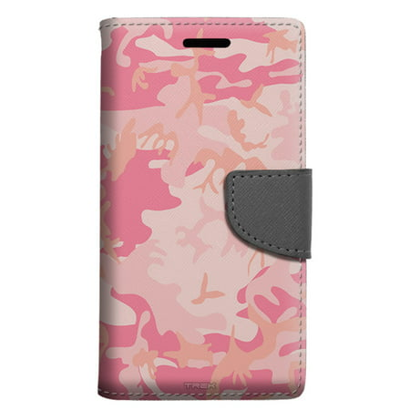 new concept 2be81 03172 LG X Power 2 Wallet Case - Camouflage Pink Case