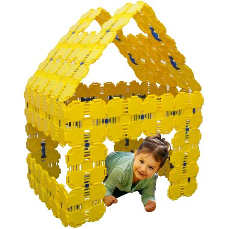 Fort Boards Prime Pack, Yellow (Kids Outdoor Forts And Playhouses)