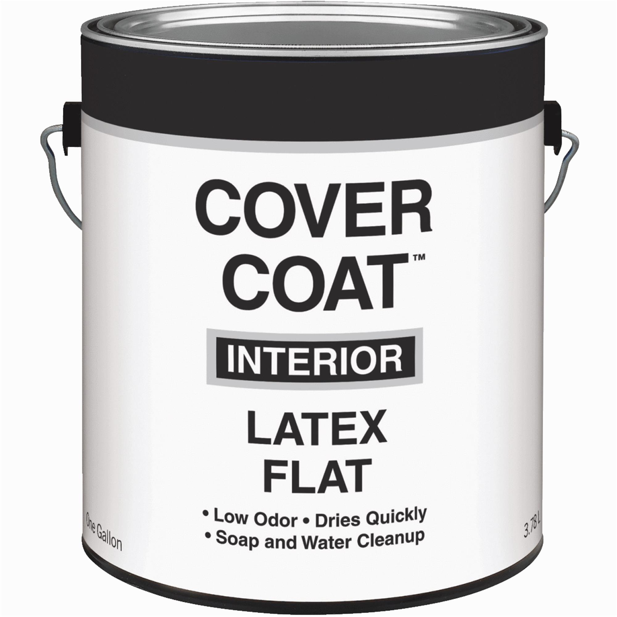Cover Coat Latex Flat Interior Wall Paint