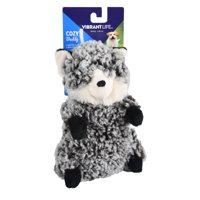 Vibrant Life Cozy Buddy Forest Critter Dog Toy, Chew Level 1