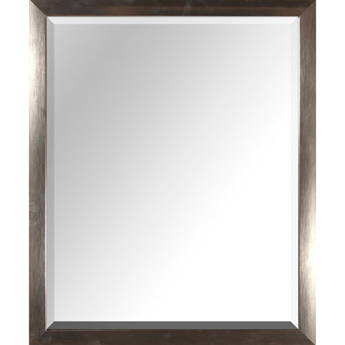 """PTM Images 25"""" x 31"""" Mirror, Silver"""