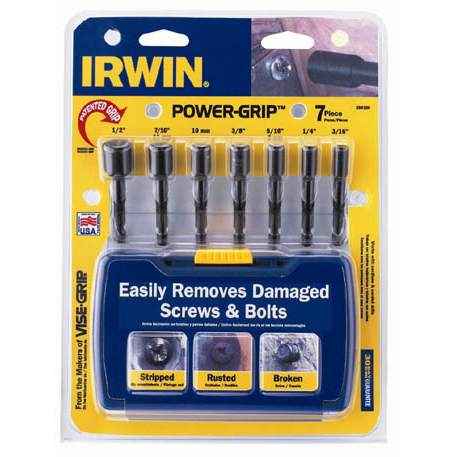 Irwin 394100 7 Piece Power Grip® Set