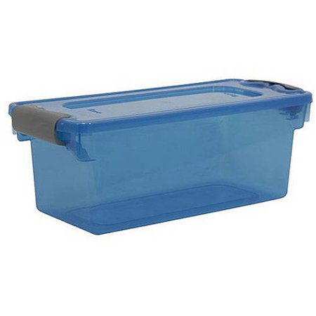 Homz Small Clear Storage Set Of 10