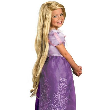 Long Rapunzel Wig (Tangled Rapunzel Girls' Wig Halloween Costume)