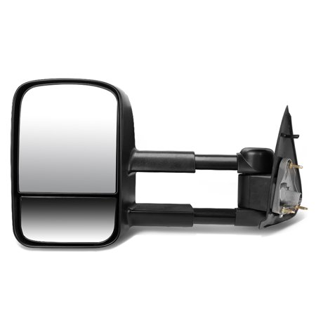 For 1997 to 2004 Ford F150 F250 Powered Adjustment+Manual Telescoping Towing Mirror (Left / Driver)