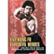 Five Kung Fu Daredevil Heroes by