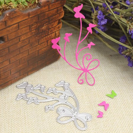 Flower Metal Cutting Dies Stencils DIY Scrapbooking Album Paper Card Craft - Scrapbook Paper Flower