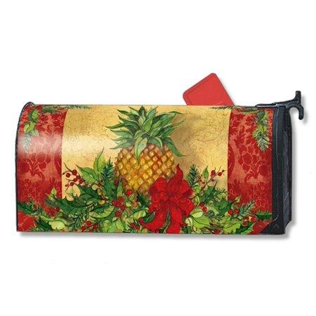 Christmas Pineapple - MailWraps - Mailbox Cover - Christmas Pineapple