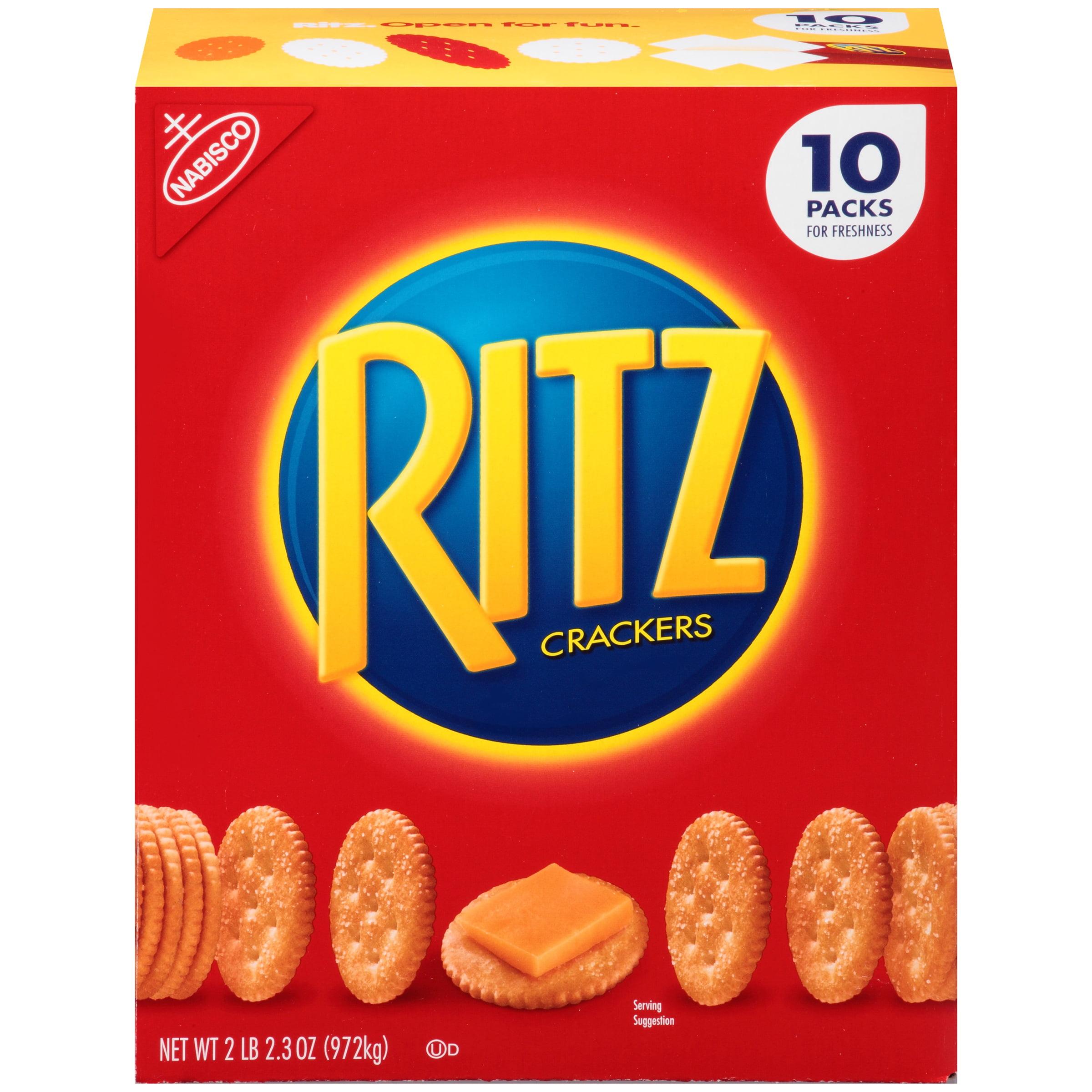 Nabisco Ritz Original Crackers, 10 Packs, 34.3 oz