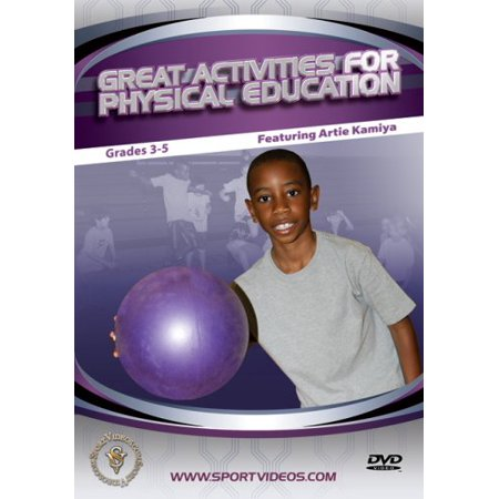 Great Activities for Physical Education: Grades 3-5 - Halloween Physical Education Activities