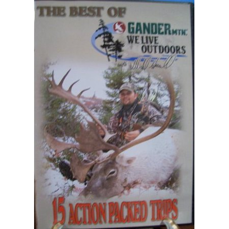 The Best Of Gander Mountains We Live Outdoors With Michael Waddell  15 Action Packed Trips