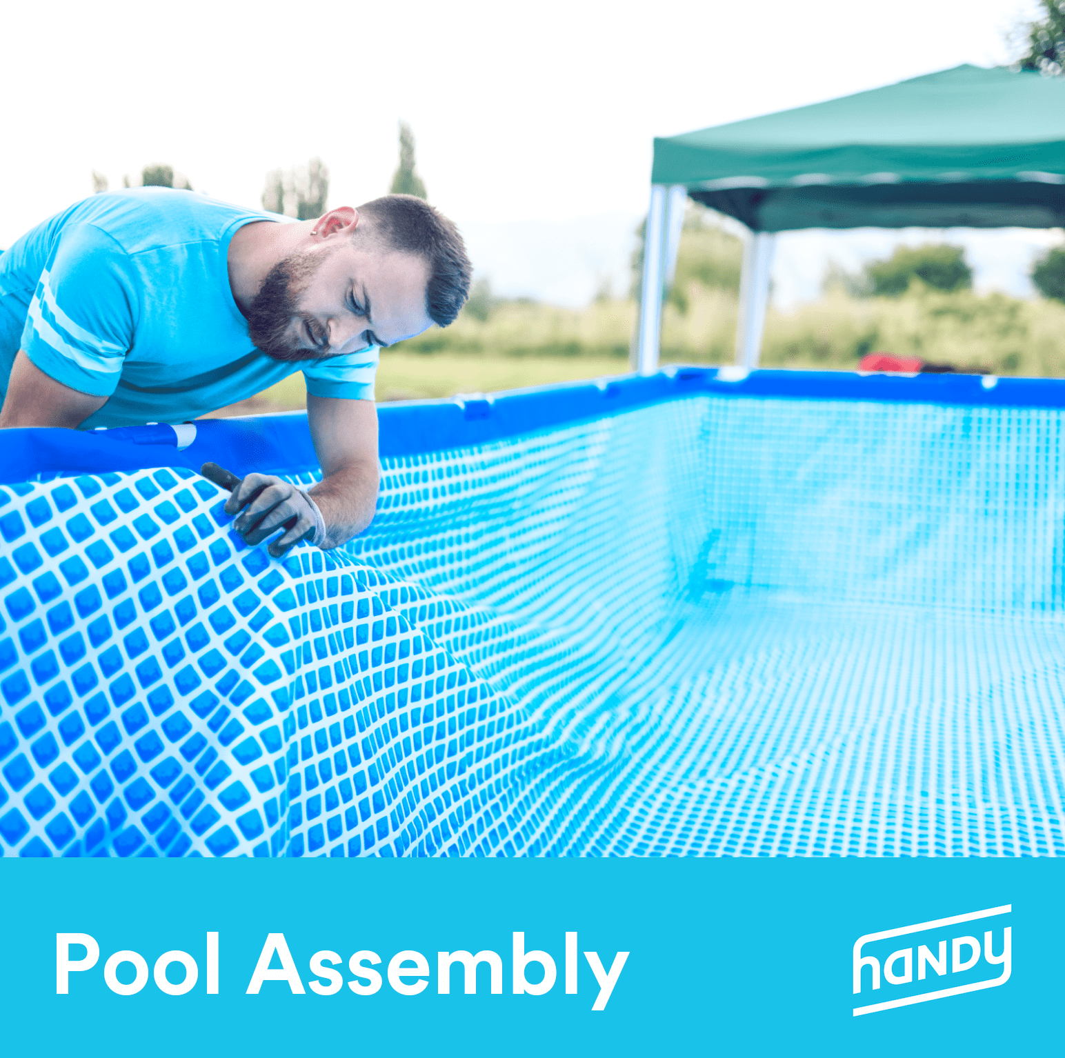 Above Ground Pool Assembly 16 18 By Handy Walmart Com Walmart Com