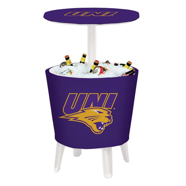 Northern Iowa Panthers Mascot Four Season Event Cooler Table