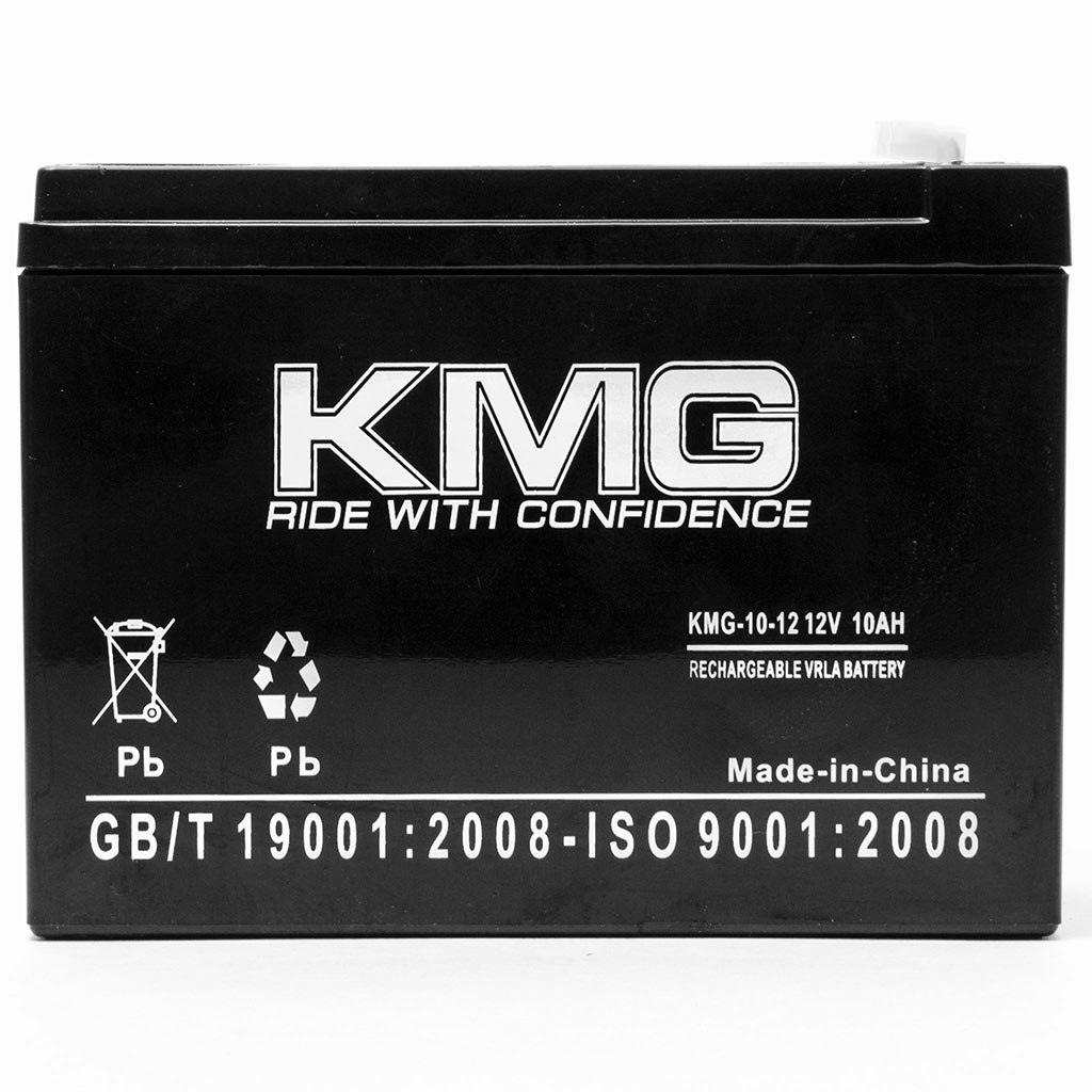 KMG 12V 10Ah Replacement Battery for Gruber Power Services 12-10F2 58-GPS-12-10F2 - image 2 de 3