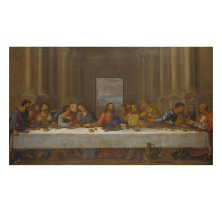 The Last Supper. (Copy after Leonardo Da Vinci) Print Wall Art By Nicolas