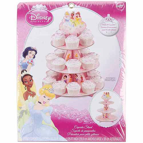 Wilton 3-Tier Cupcake Stand, Disney Princess 1512-7475