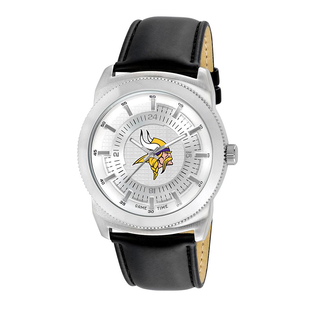 """Minnesota Vikings NFL Men's """"Vintage Series"""" Watch"""