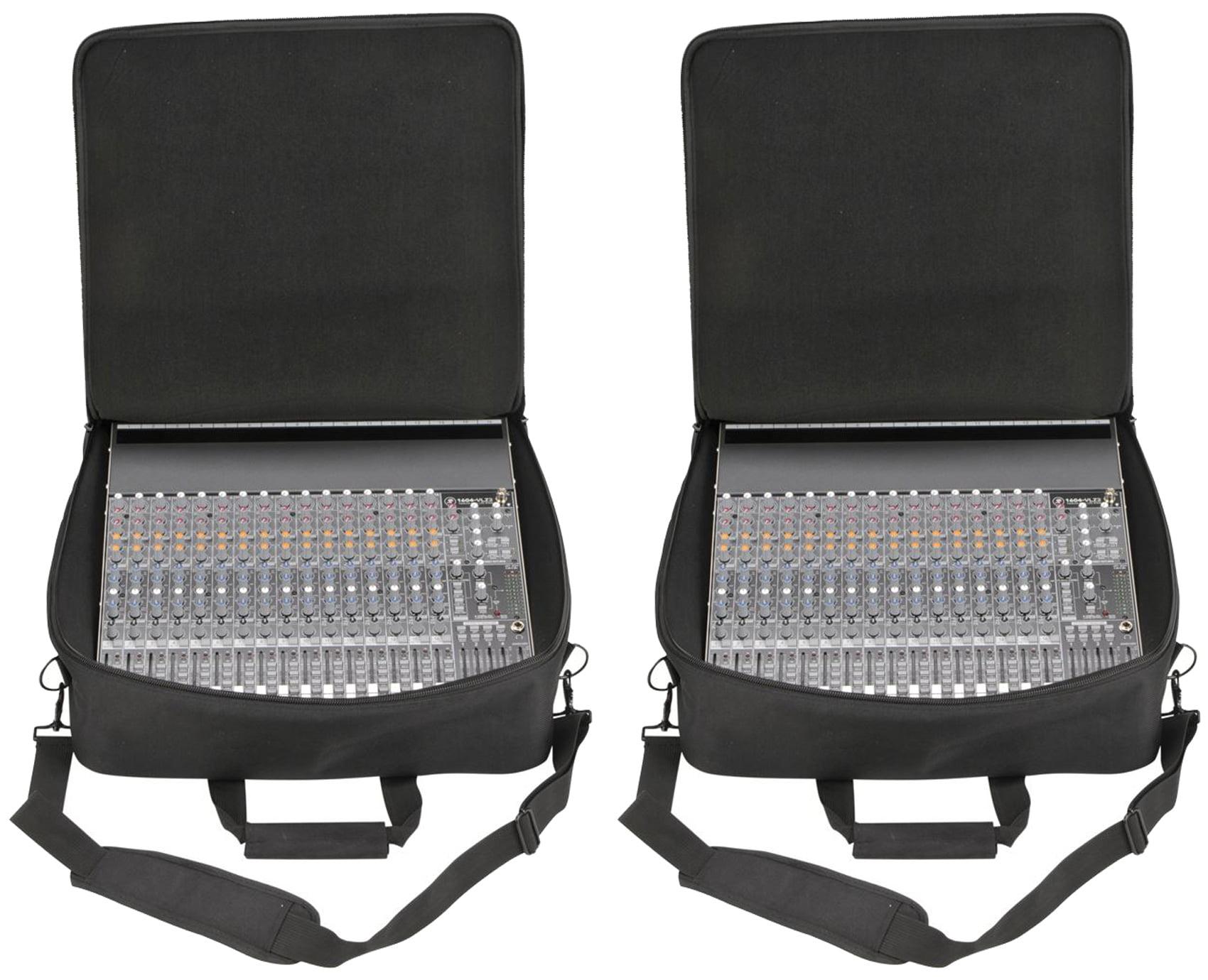 "(2) SKB 1SKB-UB1818 18"" x 18"" x 5.5"" Universal Mixer Equipment Bags by SKB"