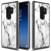 Galaxy S9 Plus Case, Slim Fit Dual Layer Shockproof Case for Samsung Galaxy S9  / Galaxy S9 Plus - Marble
