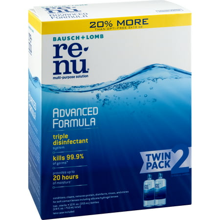 renu Advanced Formula Contact Lens Solution 2x12 FO (Vampire Contact Lenses)