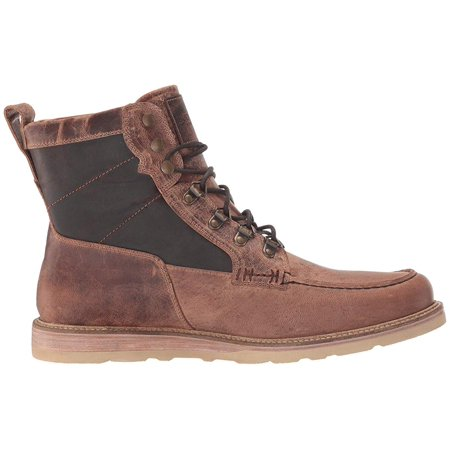 Lucchese Lace-Up Range Boot Tan Distressed Goat