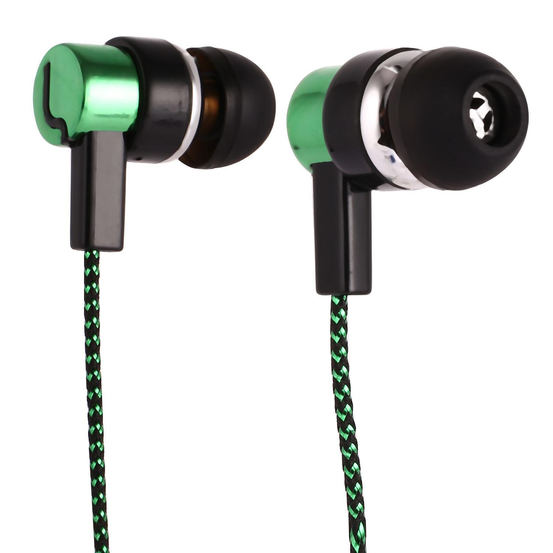 Fashion In-Ear Earbuds Earphone Mic In-Ear Only Headsets Stereo Headphones HITC