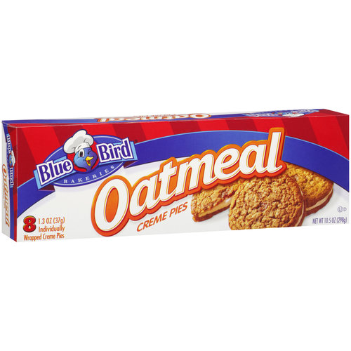 Bluebird Blue Bird Oatmeal Creme Snack Box