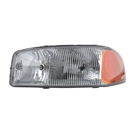Replacement TYC 20-5568-00-1 Driver Headlight For GMC Yukon Sierra Yukon XL (Gmc Yukon Xl 2500 Headlight)