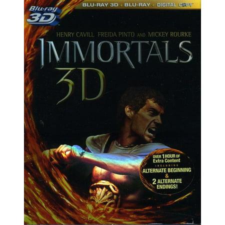 Immortals (3D Blu-ray + - 300 Immortals