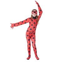 KINOMOTO Lady Bug Costume Girls Cosplay Jumpsuit,Kids S