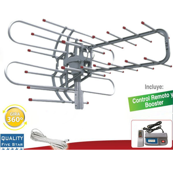 180MILE New Concept HIGH GAIN DIGITAL HD TV UHF VHF DTV 44 dB ANTENNA Booster