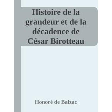 Histoire de la grandeur et de la décadence de César Birotteau - (Histoire D'horreur Et D'halloween)
